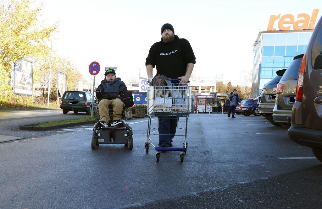 Einkaufshilfe in Wuppertal